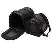 SET BORSA TRASPORTINO LUXURY NERO COCCODRILLO 1/2 CM 35-42
