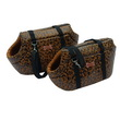 SET BORSETTE LUXURY MARRONE LEOPARDATO 1/2 CM 44-39