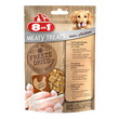 8IN1 FREEZE DRIED MEATY TREATS 100% POLLO GR. 50