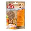 8IN1 FREEZE DRIED MEATY TREATS POLLO  E  CAROTE GR. 50
