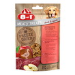 8IN1 FREEZE DRIED MEATY TREATS ANATRA  E  MELA GR. 50