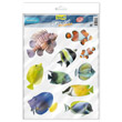 TETRA DECOART STICKERSET MARINE FISH (A4) (FA)