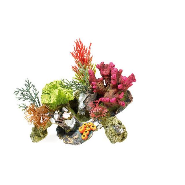 DECORAZIONE CORAL - ROCKS  E  PLANT