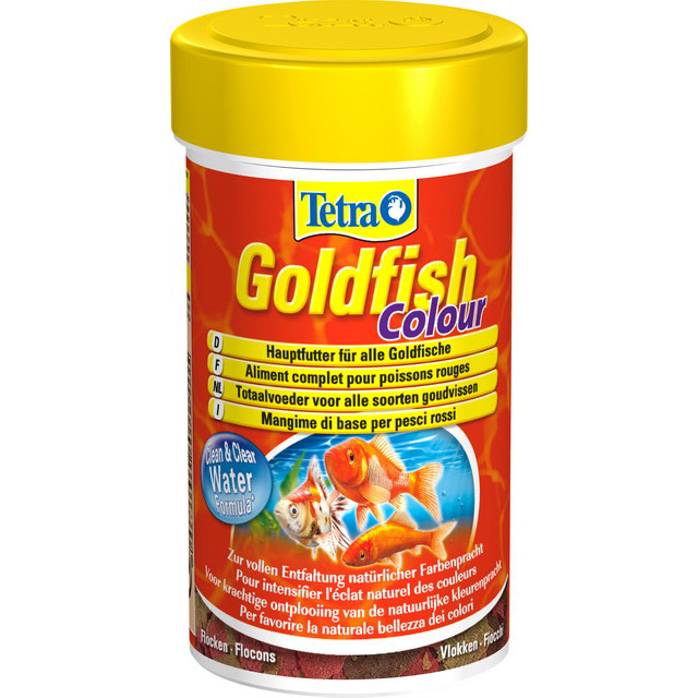 TETRA GOLDFISH COLOUR FLAKES 100 ML