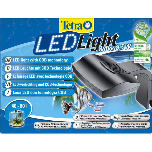 TETRA LED LIGHT WAVE 8,5W